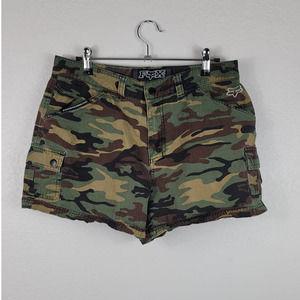 Fox Racing Camouflage Shorts Sz 9